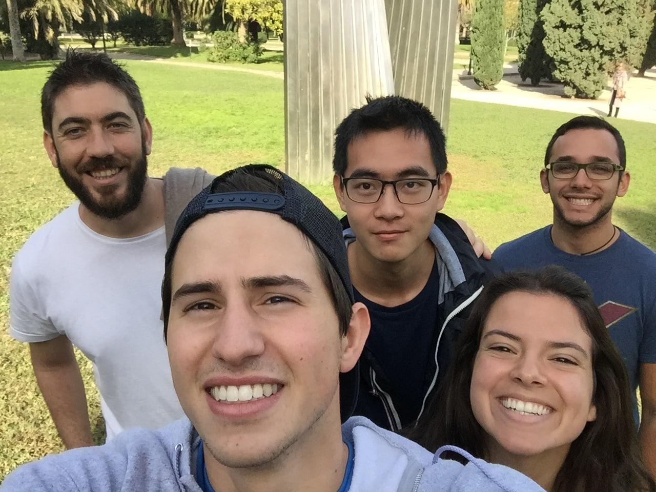 Estudiantes escuela de Español AIP